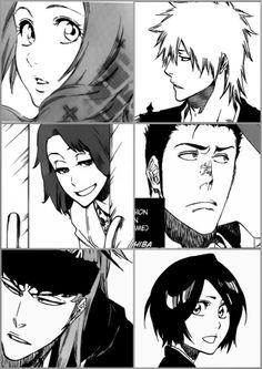 I can't believe they ended up together like this cries on corner sigh Now I can die in Peace😭😭😭😭 Bleach Fanart, Bleach Manga, Shinigami, Manga Art, Manga Anime, Anime Guys, Anime Art, Ichigo And Orihime, Bleach Couples