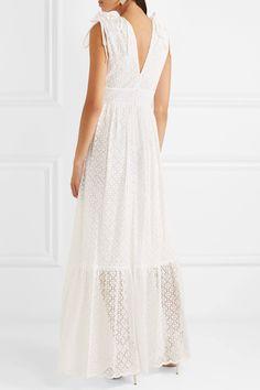 Prairie Guipure Lace Maxi Dress - White Temperley London 0S5Cha5qS