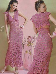 Wedding elegant crochet women dress and bolero