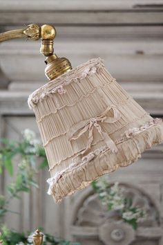 ..Sometimes old is beautiful...  #AntiqueLampshade