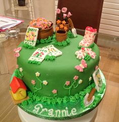 Harrys Garden by Rachel Cakes Cake Decorating Daily