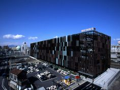 Parking Building Takasaki | kengo kuma and associates