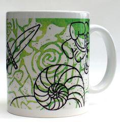 A great Kappa Delta mug, comes in a box filled with zebra tissue paper. The perfect sorority gift by Greek Zebra - www.GreekZebra.com!