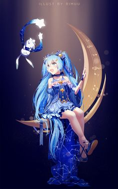 Winter Constellation by rimuu on @DeviantArt