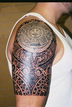 33 Aztec Half Sleeve Tattoos 15 aztec tattoo designs and 125 tribal tattoos f&; 33 Aztec Half Sleeve Tattoos 15 aztec tattoo designs and 125 tribal tattoos f&; Mona J. Steelman monajsteelman Tattoos […] tattoo for men Aztec Warrior Tattoo, Aztec Tribal Tattoos, Aztec Tattoo Designs, Tribal Shoulder Tattoos, Warrior Tattoos, Shoulder Tattoos For Women, Tattoo Sleeve Designs, Sleeve Tattoos, Tattoo Sleeves