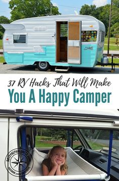 37 RV Hacks That Will Make You A Happy Camper — I LOVE RVing, don't tell my wife, but I think I actually prefer to RV than camp out in a tent! I only say that because setting up a tent and making sure its all dry and clean before packing it away always causes me to get mad and annoyed.