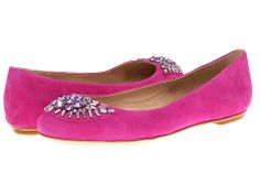 Joan & David 7Eila Pink Suede - 6pm.com
