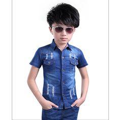 a56d041dc Professional Blue Kid Shirts Handblast Boys Jeans Oem Service - Buy  Professional Manuture Demin Shirts For Kids,Conton Boy Shirts Odm&oem,Kid  Shirt Oem ...