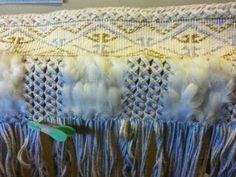 Robin Weaves Korowai: May 2014 Maori Patterns, Maori Designs, Maori Art, Weaving Patterns, Robin, Feather, Drawings, Traditional, Ideas