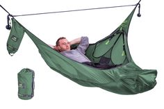 Amok Draumr 3.0 - hammock with bug net and suspension straps