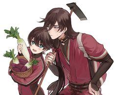 Kanesada and Horikawa // Touken Ranbu