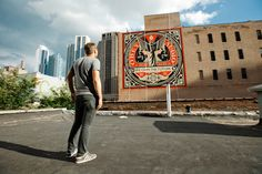 "OBEY – ""We Own The Future"" New Mural in Chicago - GORGO"