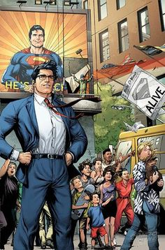 So who IS this mysterious man claiming to be a completely ordinary Clark Kent? Read ACTION COMICS #963, available 9/14, to find out!
