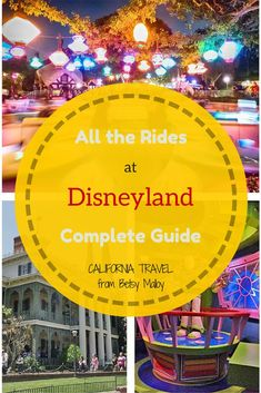 "Pictures and Secrets: Everything you wanted to know about the rides at Disneyland, including insider tips and when to say ""cheese"" for your picture"