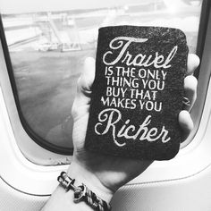 #Travel  Selfmade #passportcover #sundaymood #yearoftravel2016 #wander #travelling #travelquotes #wanderlust by travel.quotes