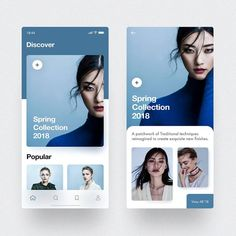 Recently I played around with some fashion app layout ideas. I was mostly focusing on the use of… Ui Design Mobile, App Ui Design, Interface Design, Design Web, Design Layouts, Dashboard Design, Email Design, User Interface, Great Website Design