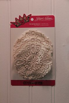 Antique looking doilies!   CHA Summer 2012 by Shopping Diva, via Flickr