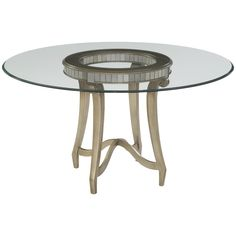 Bassett Mirror Hollywood Glam Celine Dining Table 2900-700-095EC