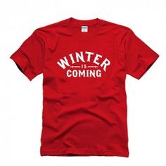 Game Of Thrones Tshirt - Winter Is Coming