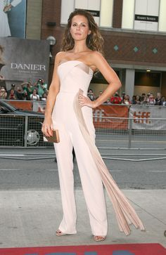 We're pretty sure Kate Beckinsale's never looked hotter than she does in this Azzaro jumpsuit.