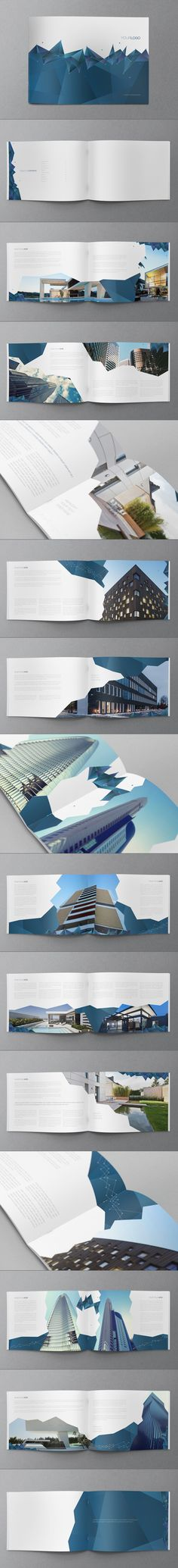 Science Brochure Design by Abra Design, via Behance