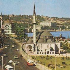 1960'lı yıllarda Fındıklı. #istanbul #1960s