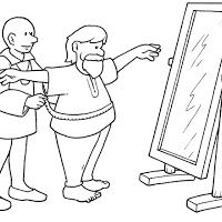 Emperor's New Clothes coloring page - enough pages to do story sequencing