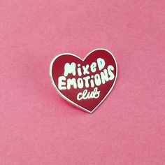 Mixed Emotions Club pin – Tuesday Bassen