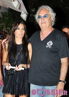 Elisabetta Gregoraci e Flavio Briatore arrivano a Mykonos