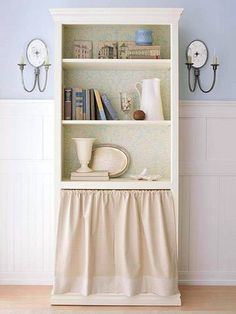 DIY Bookcase and Shelving Projects | Cover the Clutter