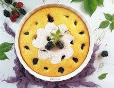AranyTepsi: Egyszerű szedres-kókuszos pite Hummus, Pancakes, Pudding, Cookies, Breakfast, Ethnic Recipes, Food, Crack Crackers, Morning Coffee