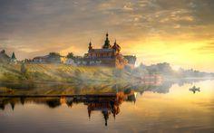 Staraya Ladoga... by Ed Gordeev .