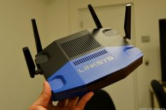 The new Linksys WRT1900AC bears more than a passing resemblance to the design of the good, old WRT54G that came out more than a decade ago. $299 in Spring 2014