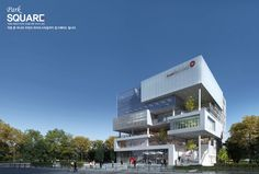 Office Building Architecture, Facade Architecture, Archi Design, Futuristic City, Activity Centers, Shopping Mall, Competition, Multi Story Building, Commercial