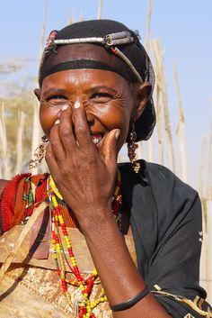 Africa    Smiling Gabbra woman, Chalbi Desert, Kenya   © Rita Willaert