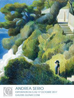 Find here my graphic & artistics inspirations Inspiration Art, Art Inspo, Landscape Art, Landscape Paintings, Art Et Illustration, Polychromos, Color Pencil Art, Art Sketchbook, Art Drawings