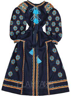 """Сукня з клинами """"Трипільське Сонце"""""""