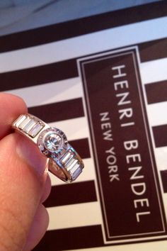 My Narrow Harry Band Ring from Henri Bendel.