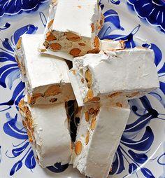 Turron? It's a Spanish dessert involving icecream, chocolate pudding, & a special nougat.
