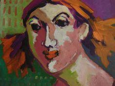SARAVAH 1 - Huile sur toile - 50x50 - Galerie LEVY