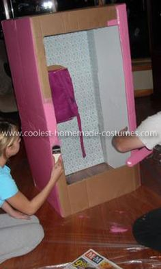Best directions for diy barbie boxes costumesscenery pinterest cox up your favorite toy with these awesome homemade doll and toy in a box costumes take your diy costume to the next level using the tutorials here solutioingenieria Images