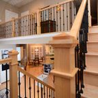 Maple staircase Traditional Staircase, Iron Balusters, Canadian Maple, Hardwood, Stairs, Design Ideas, Interior Design, Outdoor Decor, Home Decor