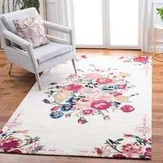 Bungalow Rose Tulsa Handmade Tufted Wool Brown Rug & Reviews | Wayfair Wool Area Rugs, Wool Rug, Country Casual, Hand Tufted Rugs, Brown Rug, Pink Patterns, Indoor Rugs, Online Home Decor Stores, Colorful Rugs