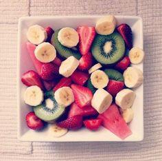 Frukt är bra och äta!