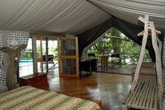Rufiji River Camp, Selous Game Reserve, Tanzania #Tanzania #Selous Game Reserve #Rufiji River Camp http://www.mambulu.com/safari/tanzania17/reissuggesties-tanzania/399-exclusieve-safari-zuid-tanzania.html
