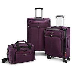 c4a4799e9f20 Samsonite 3 Piece Travel Luggage Set W27 20 4wheel Spinner and Boarding Bag  -- Check