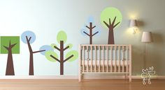 Little Trees Decal