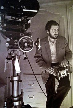 """Stanley Kubrick on the set of A Space Odyssey"""" Directed by Stanley Kubrick. Behind the scenes photos. Stanley Kubrick, Tv Movie, 2001 A Space Odyssey, Films Cinema, Scene Image, The Shining, Film Stills, Film Director, Screenwriting"""