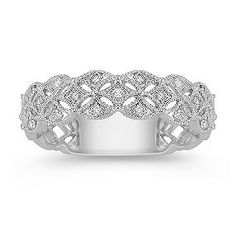 Round Diamond Ring - so pretty, would love this as a right hand ring