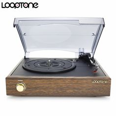LoopTone Classic Belt-Driven Turntable Vinyl LP Record Player W/ 2 Built-in Speakers RCA Line-out Price history. Built In Speakers, Stereo Speakers, Bluetooth Speakers, Vinyl Lp, Shipping Packaging, Belt Drive, Phonograph, Record Player, Cool Kitchens
